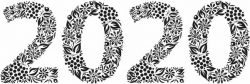 Floral 2020 For Print Or Laser Engraving Machines Free DXF File