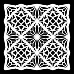 Square Pattern Download For Laser Cut Free CDR Vectors Art