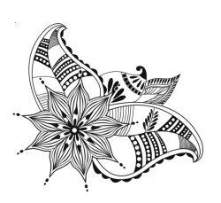 Hope Flowers For Print Or Laser Engraving Machines Free CDR Vectors Art