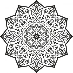 Luxury Mandala Design For Print Or Laser Engraving Machines Free CDR Vectors Art