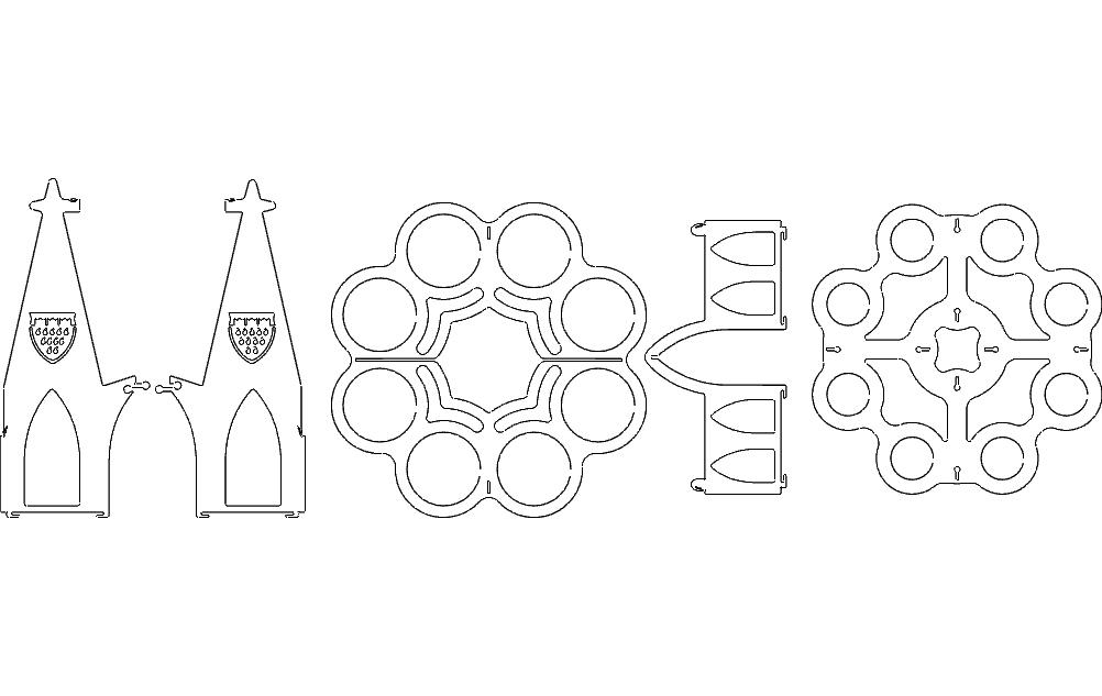 Beerholder (bierkranz) Free DXF File