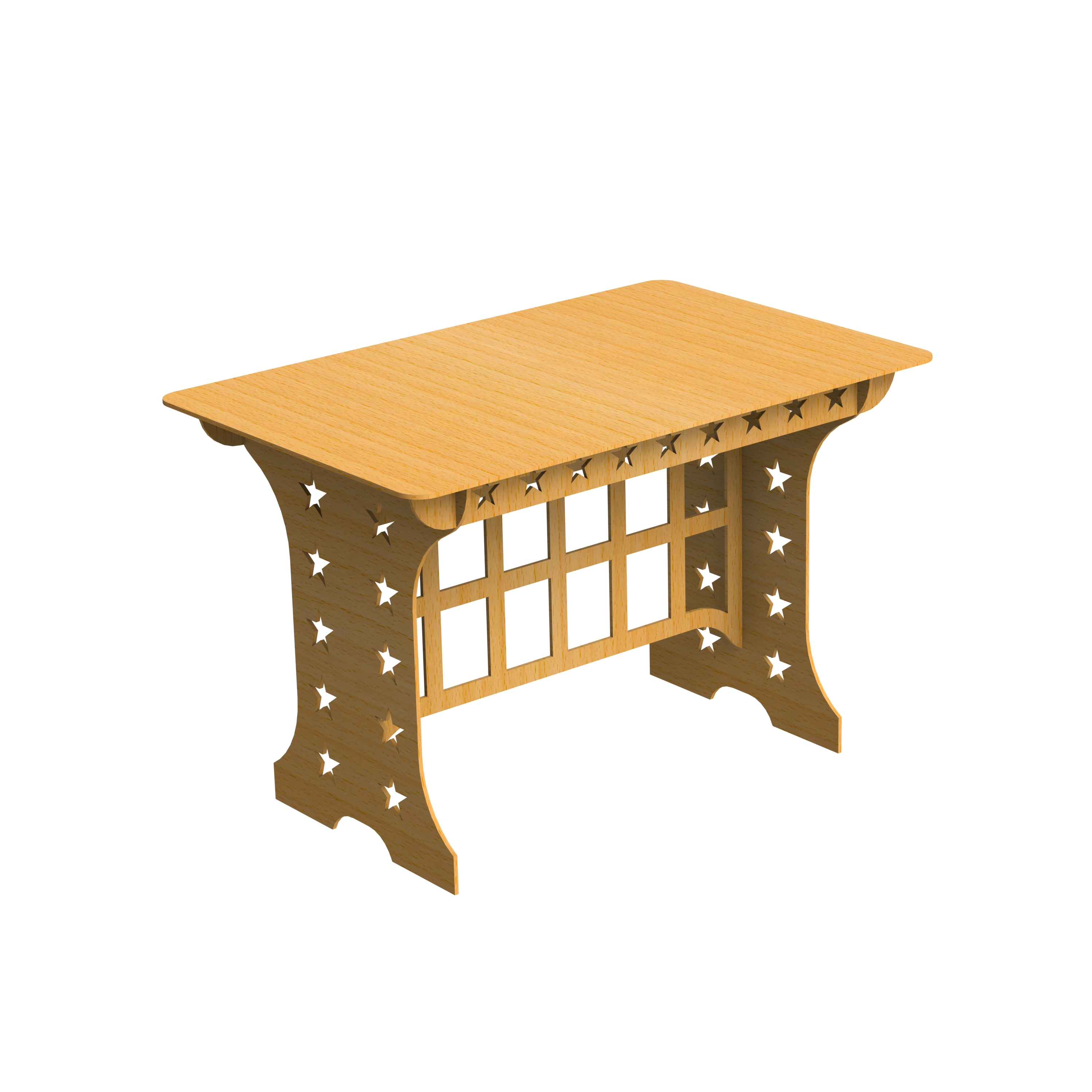 Easy Stuff Table Free DXF File