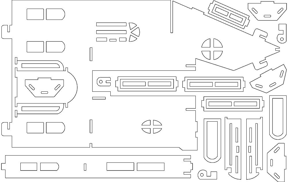 Fantasy Villa 6 Free DXF File
