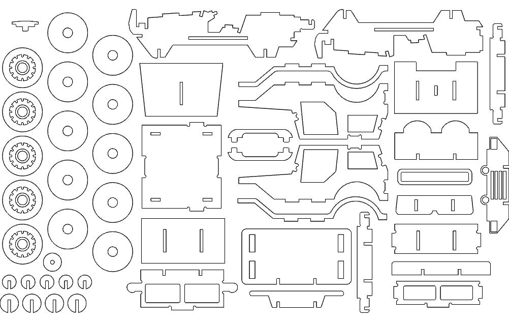 Jeep Free DXF File
