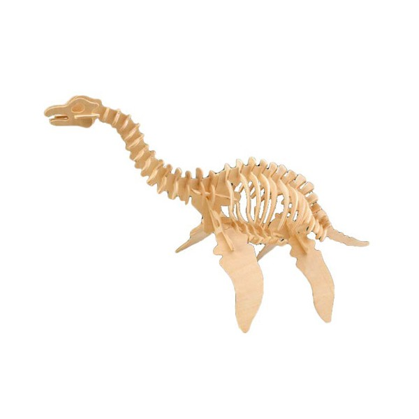 Plesiosaurus 3d Puzzle Free DXF File