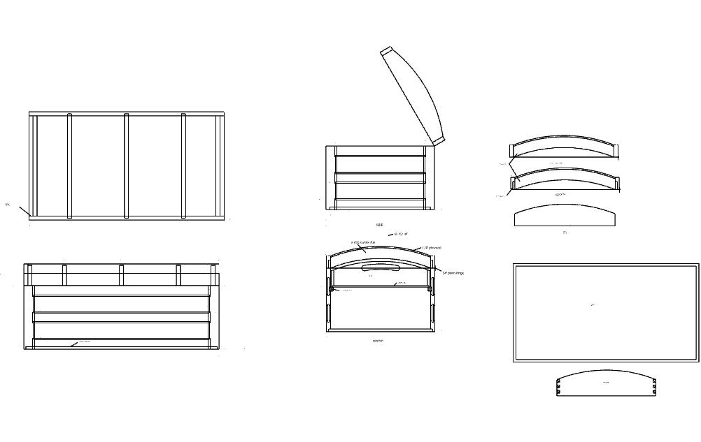 Steamer Free DXF File