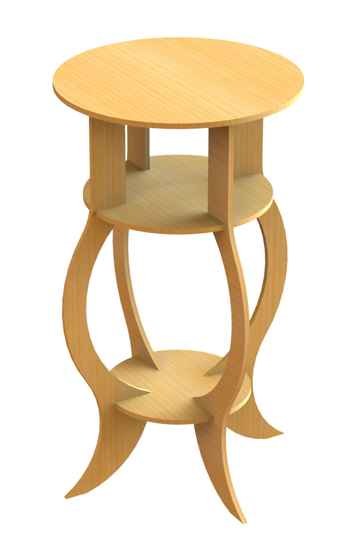 Table (stool) Free DXF File