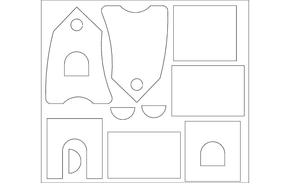 Skvoreshnik Free DXF File