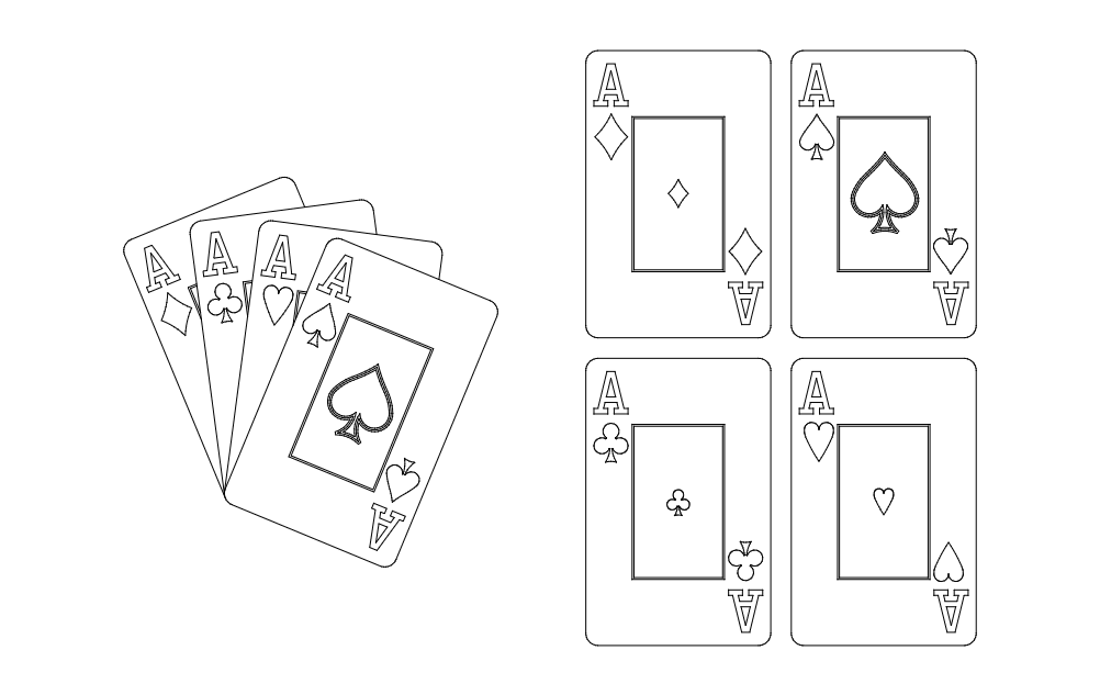 Aces Free DXF File