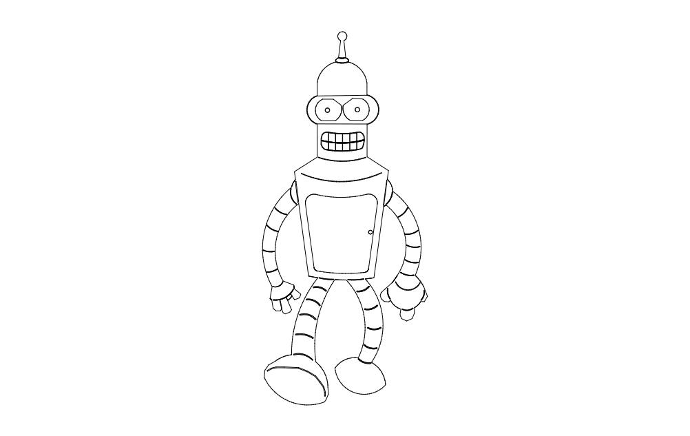 Bender Free DXF File