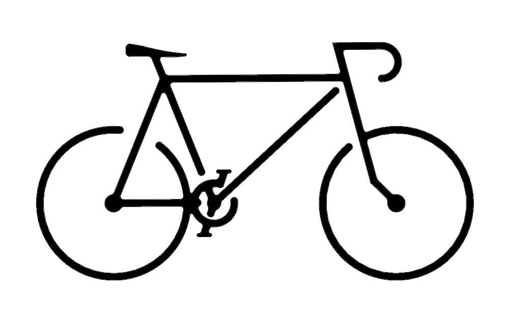 Bike Free DXF File