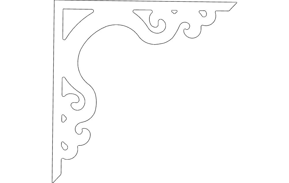 Decor Corner Free DXF File