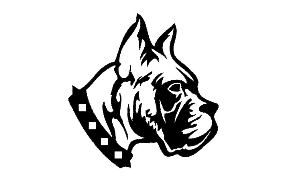 Dog bd1 Free DXF File