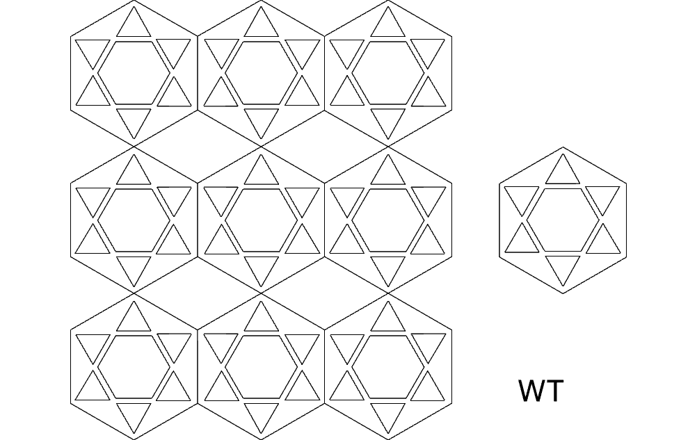 Hex 9 Free DXF File