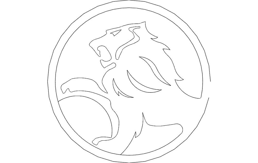 Holden Free DXF File