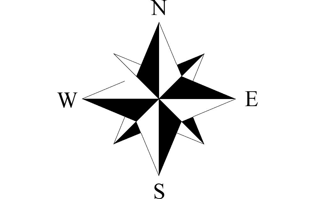 North Arrow 1 Free DXF File