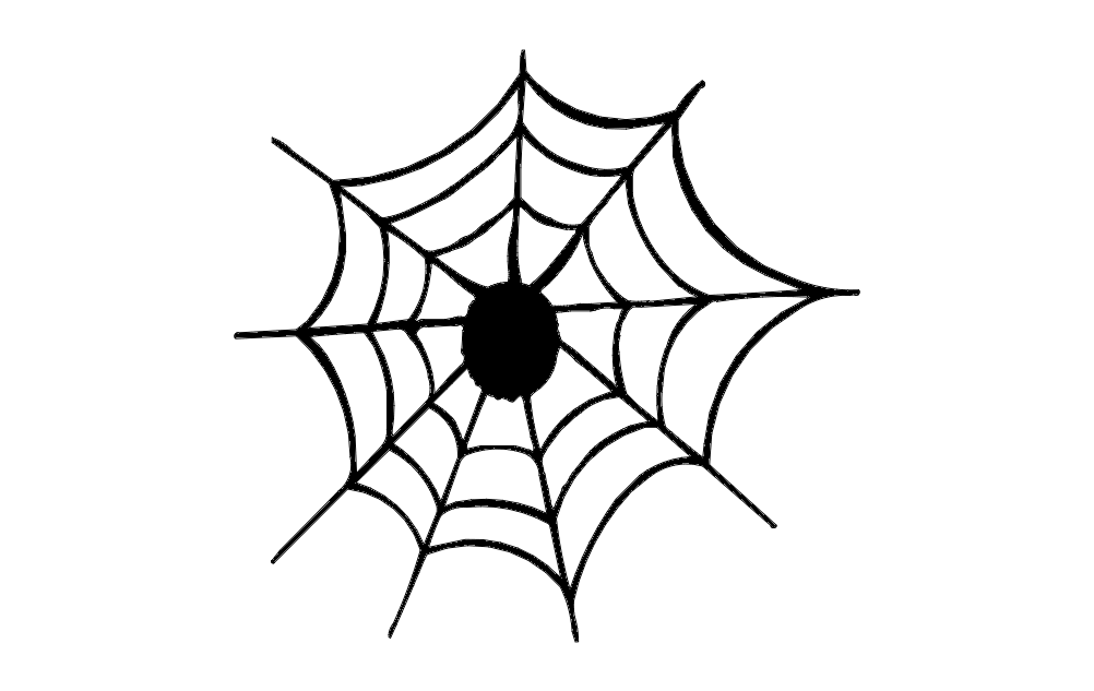 Spider Web Free DXF File