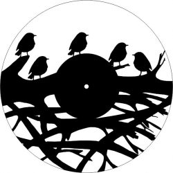 Bird Wall Clock On Tree Branches For Laser Cut Cnc Free DXF File