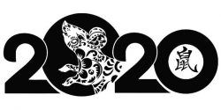 Chinese New Year Mouse For Print Or Laser Engraving Machines Free DXF File