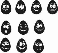 Funny Egg For Laser Engraving Machines Free DXF File