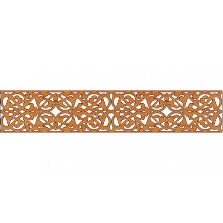 Laser Cut Pattern Design Cnc 147  Free DXF File