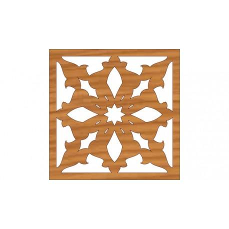 Laser Cut Pattern Design Cnc 141  Free DXF File