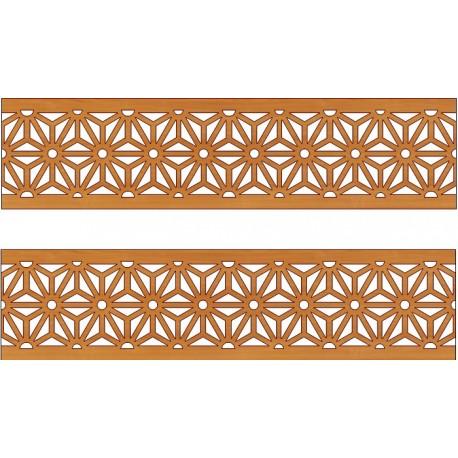 Laser Cut Pattern Design Cnc 137  Free DXF File
