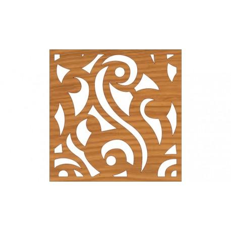 Laser Cut Pattern Design Cnc 127  Free DXF File