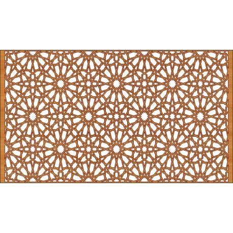Laser Cut Pattern Design Cnc 116  Free DXF File