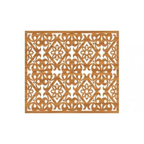 Laser Cut Pattern Design Cnc 93  Free DXF File