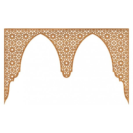 Laser Cut Pattern Design Cnc 36  Free DXF File