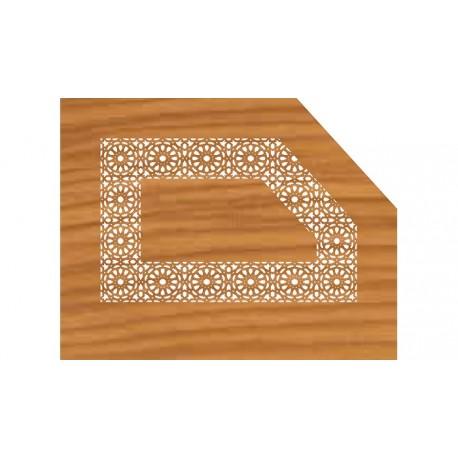 Laser Cut Pattern Design Cnc 27  Free DXF File