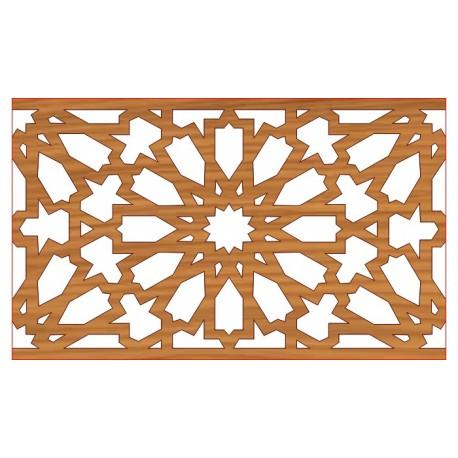 Laser Cut Pattern Design Cnc 1  Free DXF File