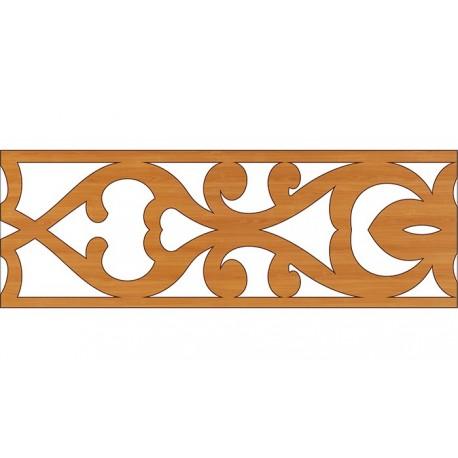Laser Cut Pattern Design Cnc 338 Free DXF File