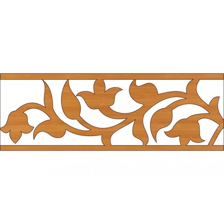 Laser Cut Pattern Design Cnc 337 Free DXF File