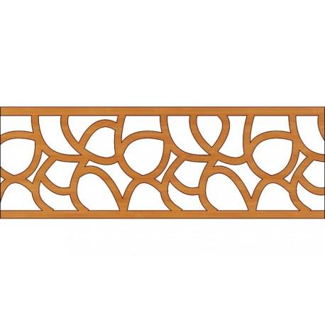 Laser Cut Pattern Design Cnc 322 Free DXF File