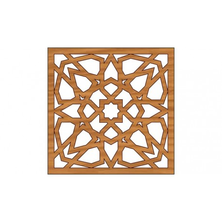 Laser Cut Pattern Design Cnc 297 Free DXF File