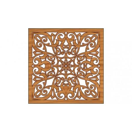 Laser Cut Pattern Design Cnc 295 Free DXF File