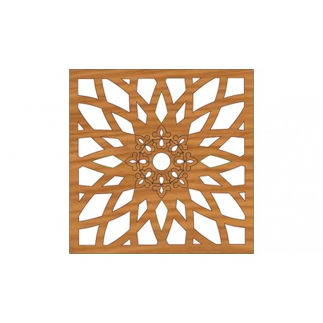 Laser Cut Pattern Design Cnc 287 Free DXF File