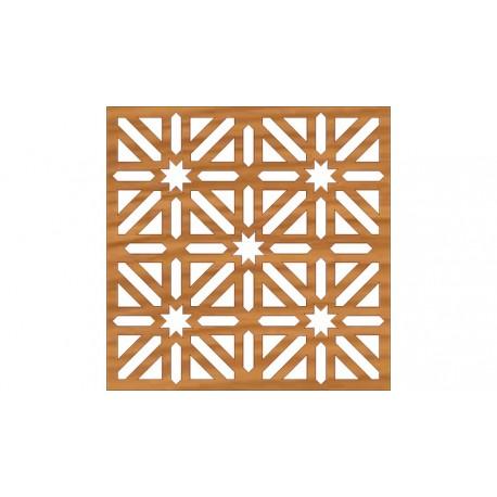 Laser Cut Pattern Design Cnc 263 Free DXF File