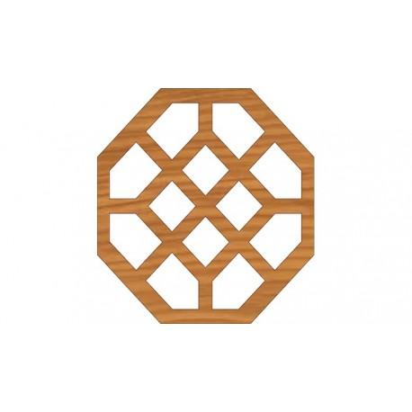 Laser Cut Pattern Design Cnc 260 Free DXF File