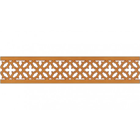 Laser Cut Pattern Design Cnc 255 Free DXF File