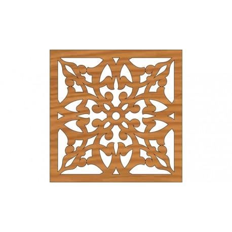 Laser Cut Pattern Design Cnc 250 Free DXF File