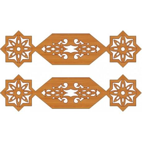 Laser Cut Pattern Design Cnc 248 Free DXF File