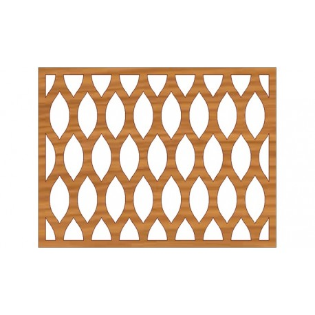 Laser Cut Pattern Design Cnc 206 Free DXF File