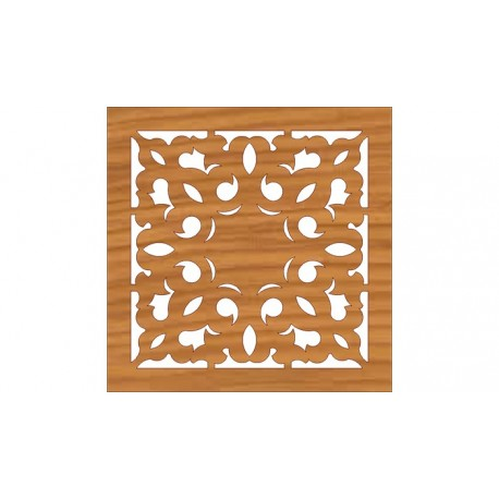 Laser Cut Pattern Design Cnc 198 Free DXF File