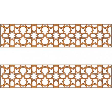 Laser Cut Pattern Design Cnc 189 Free DXF File