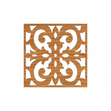 Laser Cut Pattern Design Cnc 167 Free DXF File