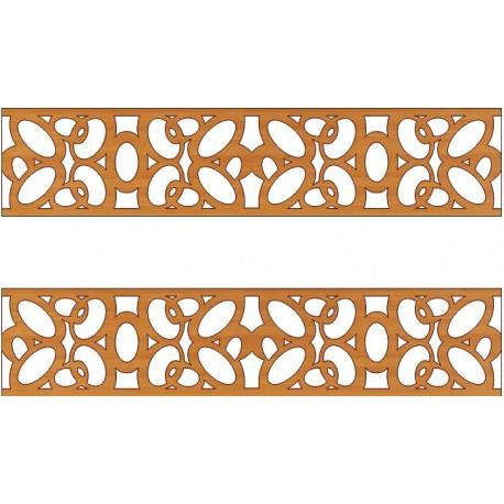 Laser Cut Pattern Design Cnc 166 Free DXF File