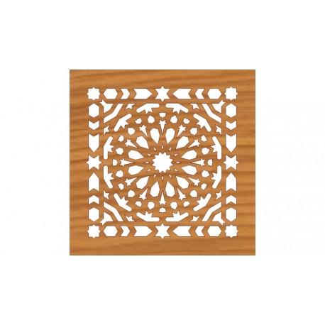 Laser Cut Pattern Design Cnc 165 Free DXF File